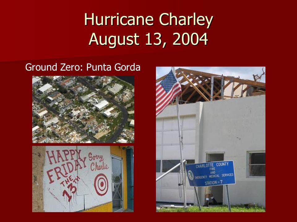 Hurricane Frances September 5, 2004 Ground Zero: Sewalls Point