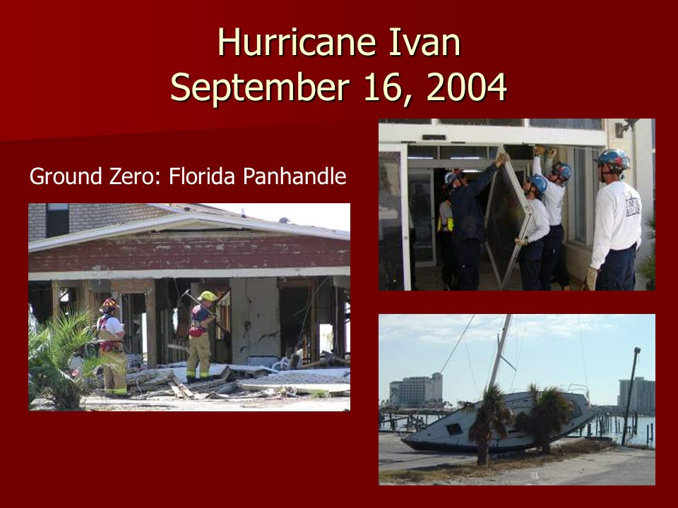 Hurricane Jeanne September 25, 2004 Ground Zero: Stuart