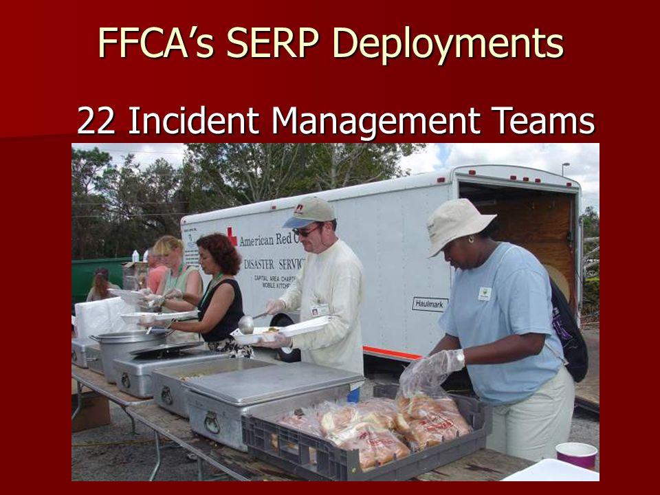 FFCAs SERP Deployments 15 Logistics Officers