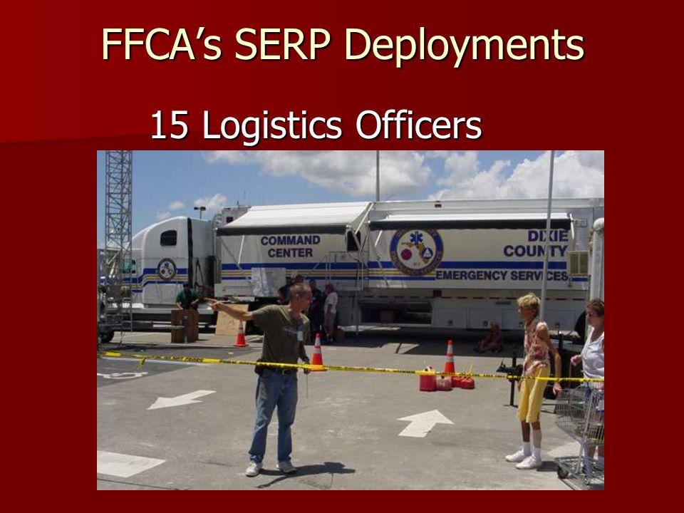 FFCAs SERP Deployments 29 Liaisons
