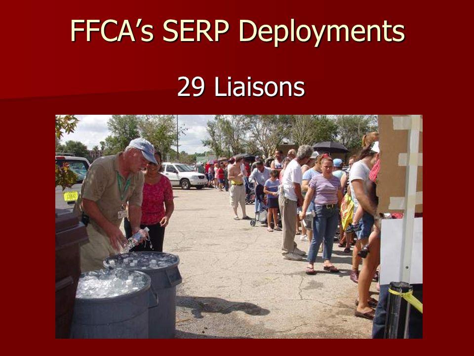 FFCAs SERP Deployments 134 Fire Engines