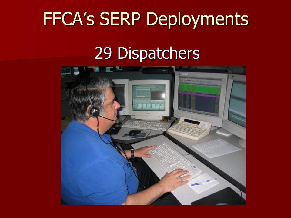 FFCAs SERP Deployments 17 Public Information Officers