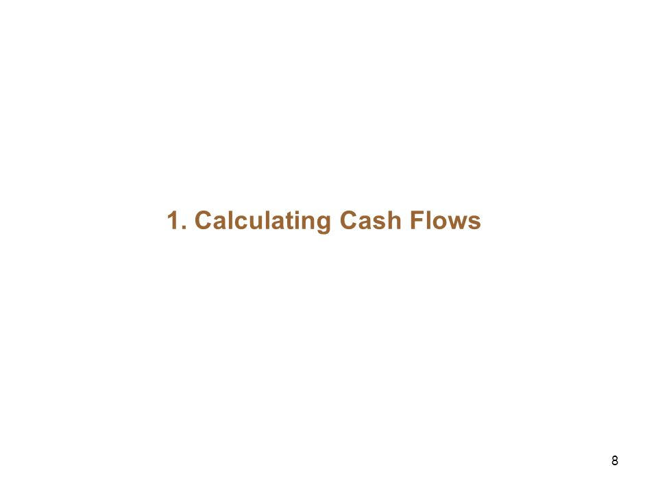9 The Free Cash Flow (FCF) Approach FCF: The expected after tax cash flows of an all equity firm These cash flows ignore the tax savings the firm gets from debt financing (the deductibility of interest expense) Plan of Attack: Step 1: Estimating the Free Cash Flows Step 2: Account for the effect of financing on value Preview: Two ways to account for tax shield: Adjust the discount rate (WACC method).