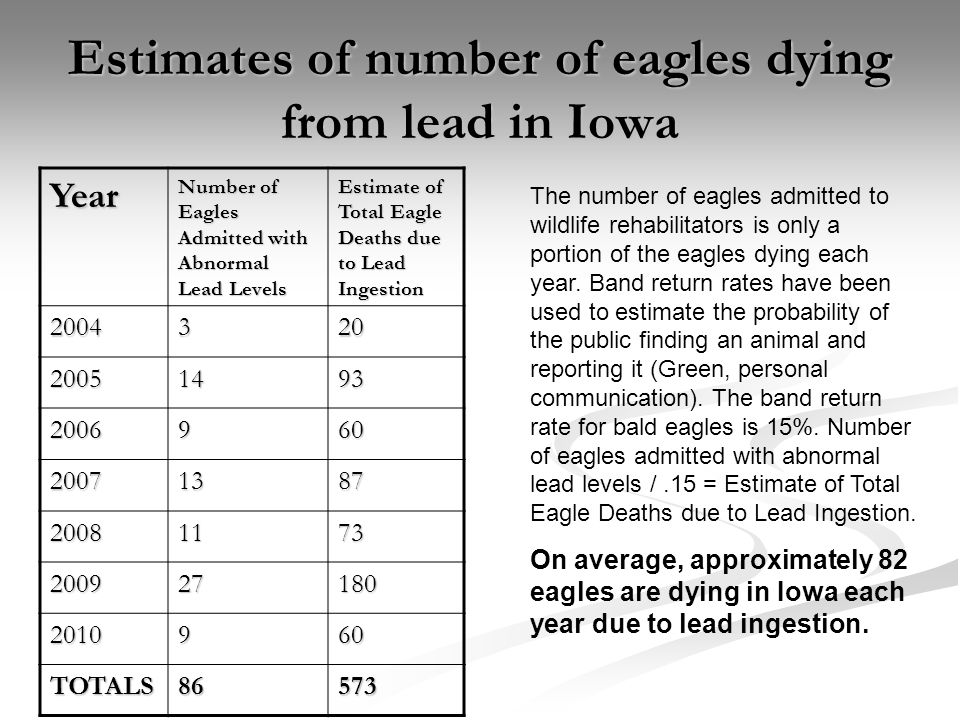 After spending over 30 years on the Endangered/Threatened List, Bald Eagles are still listed as a species of Special Concern and as a Species of Greatest Conservation Need in Iowa