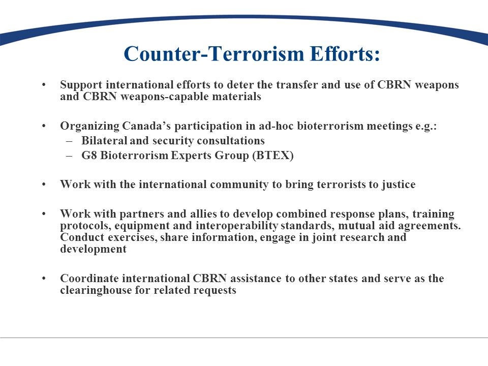 Counter-Terrorism Capacity Building Program: Est.
