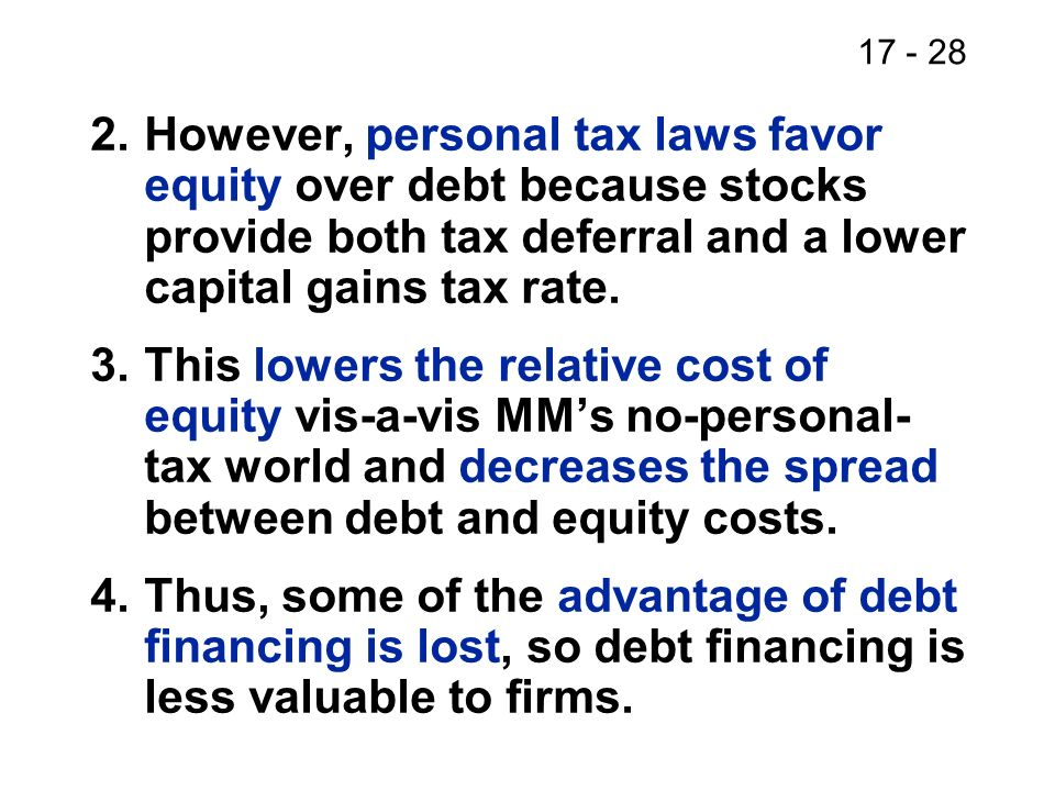 17 - 29 What does capital structure theory prescribe for corporate managers.
