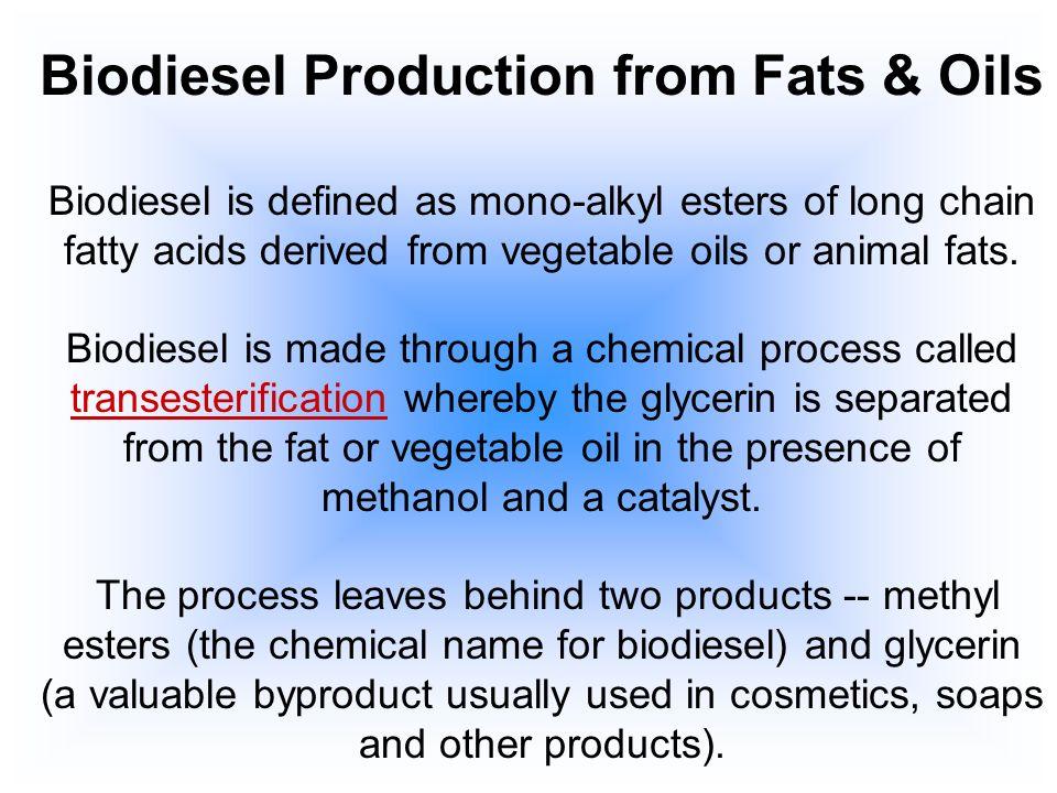 Transesterification Oil Crude Glycerin Reactor 1Reactor 2 Biodiesel Glycerin Water Evaporation Wash Column Methanol Catalyst Methanol Recovery Glycerin Water Catalyst Glycerin CROSS-FLOW (Patented) Closed WASH- WATER loop