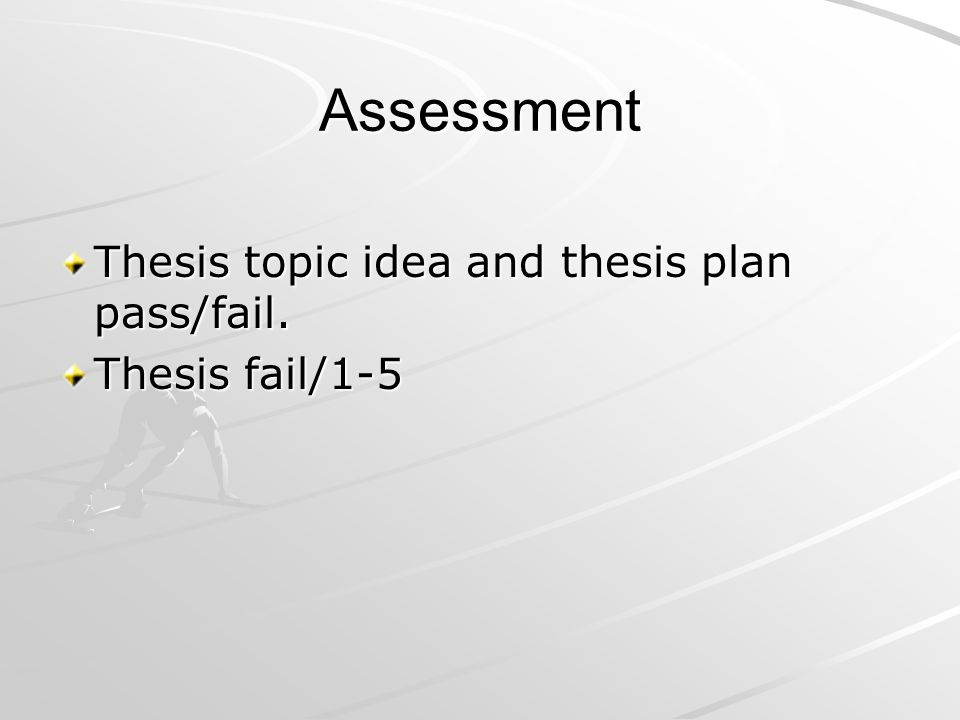 Your Thesis Topic Idea (3cr) is accepted, when Your Thesis Topic Idea report is done, you have made a prensentation of it and your teacher supervisor has accepted it You have been in seminars You have been as a peer supervisor (You have listened two thesis presentations)