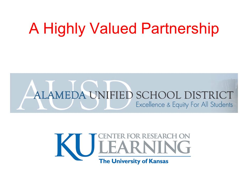 #1 About the KU Center for Research on Learning