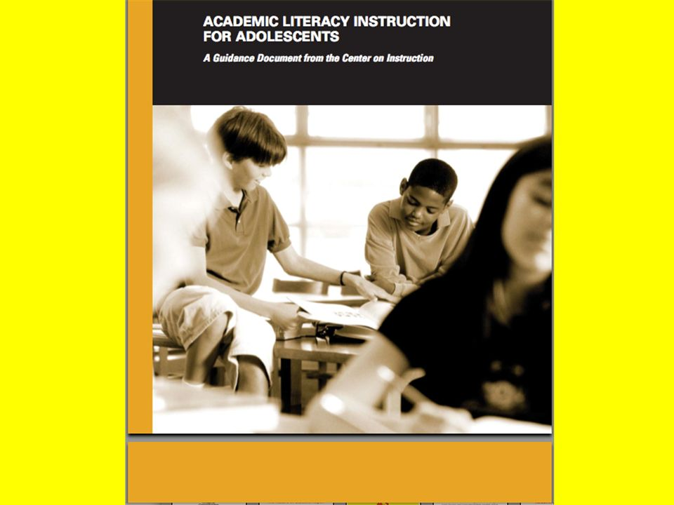 COI Recommendations Explicit instruction and practice to use comprehension strategies Increase the amount and quality of open, sustained discussion of content Set high standards for text, conversation, questions, and vocabulary Increase students motivation and engagement with reading and knowledge engagement Teach essential content knowledge and critical concepts