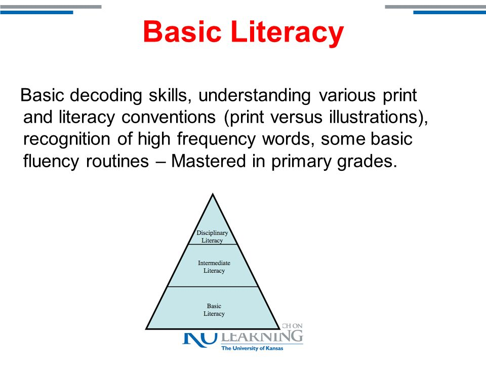 Intermediate Literacy M ore sophisticated routines and responses….