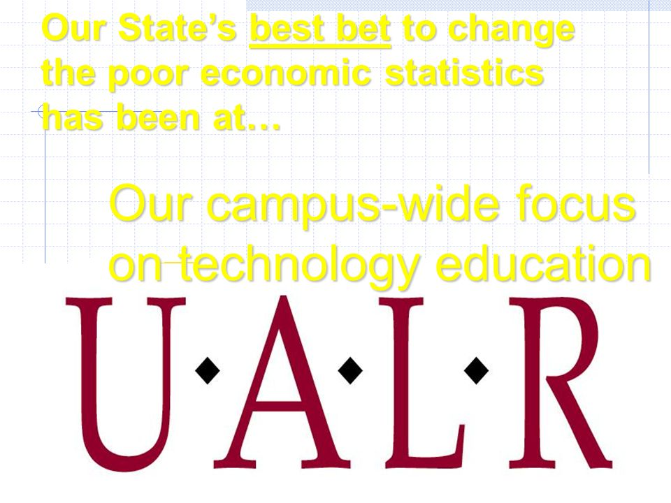 UALR has Arkansas only comprehensive information science and systems engineering curricula developed in partnership with today s top employers.