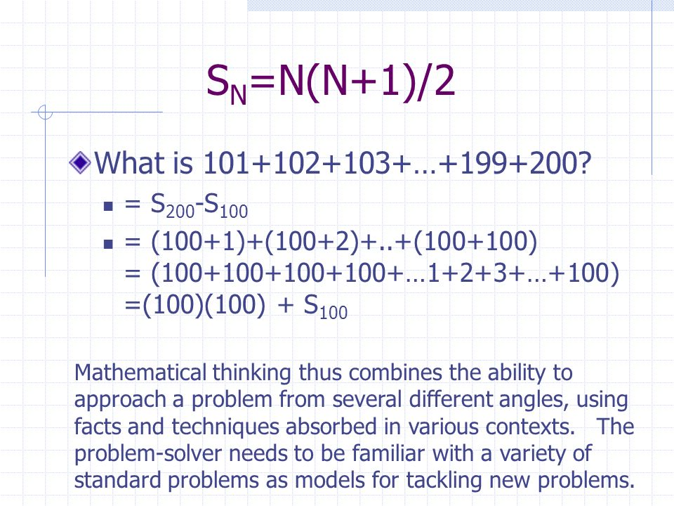 Numbers and Polynomials Base 10 numbers differ from Roman Numerals because the base 10 number is a shorthand for a polynomial (a polynomial of the form a n x n +a n- 1 x n-1 +…+a 2 x 2 +a 1 x 1 +a 0 x 0 ) Note the PATTERN.