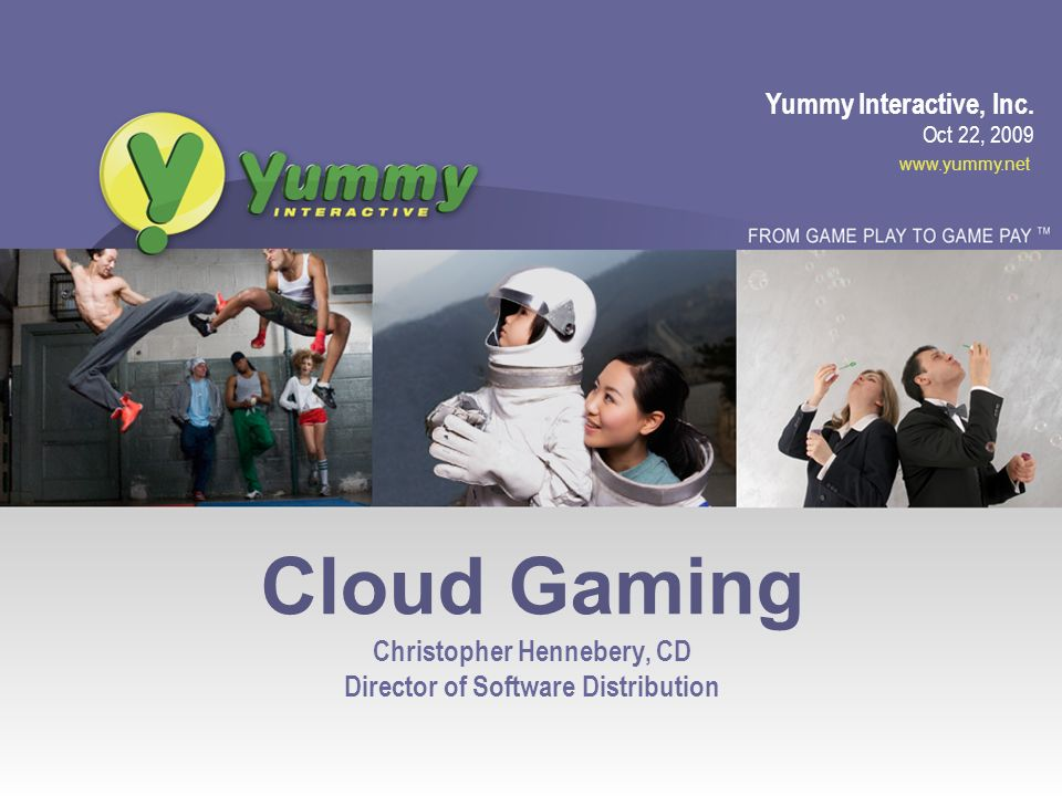 www.yummy.net Pop Quiz What is the largest gaming portal.