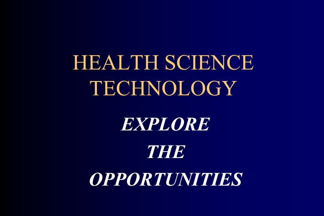 Health Care… a Dynamic and Exciting Career.Welcome to the World of Health Care.