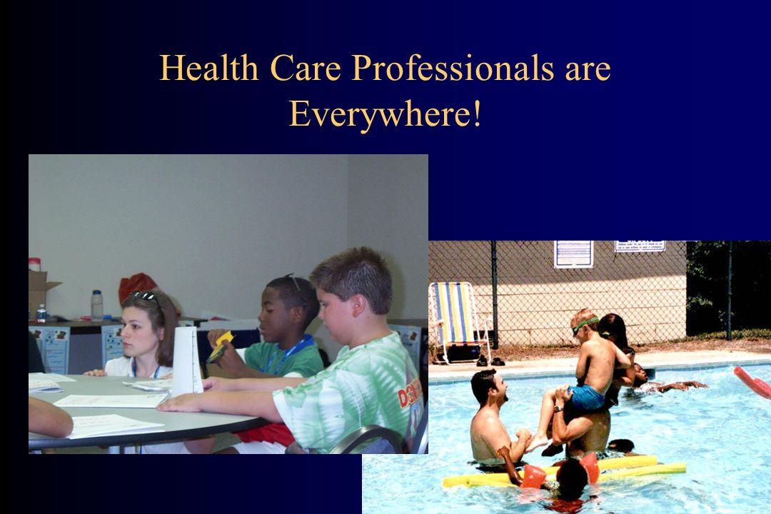 What Do Health Care Professionals Do.