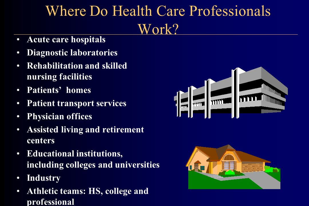 How Does the Job Market Look for Health Care Professionals.