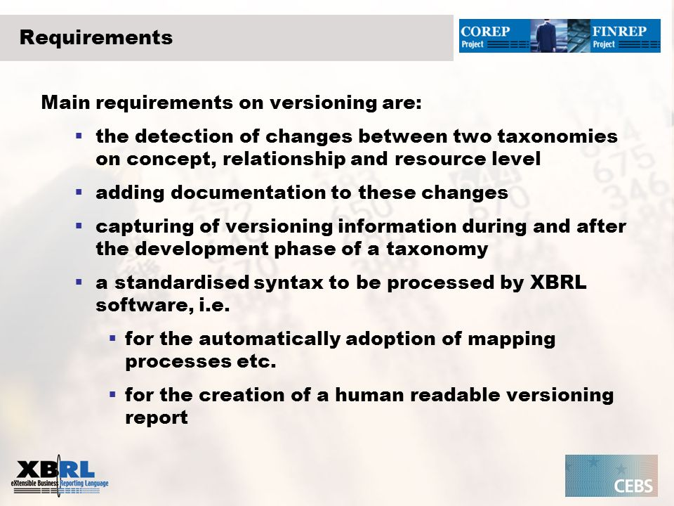 Runtime Change Solution Taxonomy nTaxonomy n+1 diffing container interface versioning container Diffing manager Support for taxonomy maintenance Generate versioning Visualise information Comment Taxonomy developer