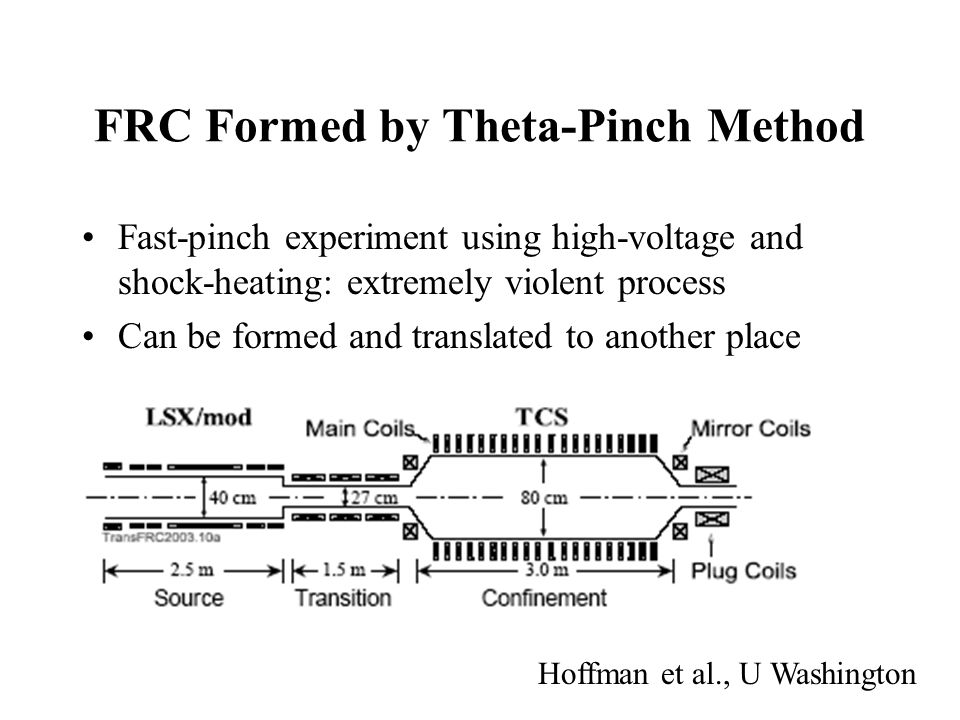 FRC Formation and Translation Plasma settles to a relatively stable state: relaxation?
