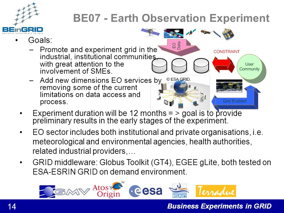 Business Experiments in GRID 15 BE08 – Integration of engineering and business processes in metal forming DurationMain Goals 20 months Economic Sector Automotive Supplier Industry, especially small and medium sized enterprises coping with sheet metal forming.
