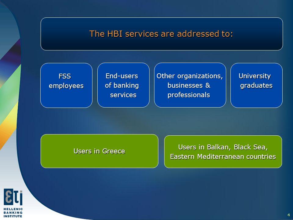 5 More about HBI activities Ι.Professional Education & Training ΙΙ.Accredited Examination Centre III.Partnerships ΙV.International Activities V.