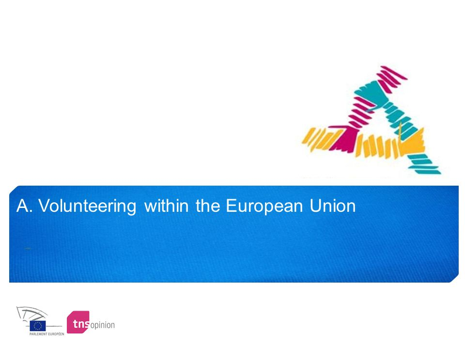 7 1.1 A quarter of Europeans have a voluntary activity Total Yes : 24%