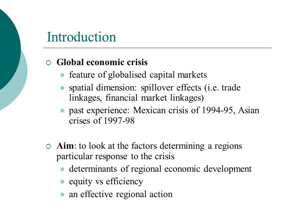 Structure of the presentation 1.Factors determining regional economic development 2.Regional economic policy 3.An effective regional action 4.Conclusion