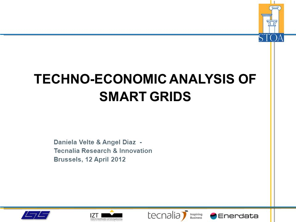 SMART GRIDS IN THE WIDER CONTEXT OF A CHANGING ENERGY MARKET The deployment of smart grids is expected to last several years, foreseeably up to 2030.