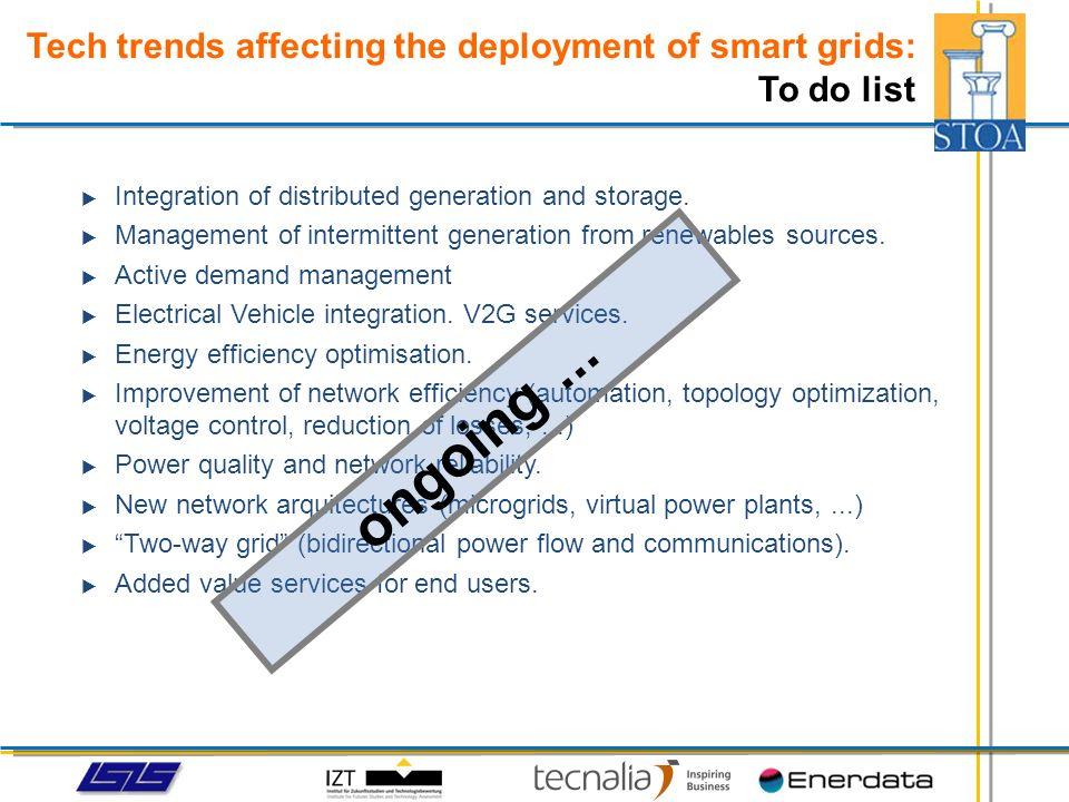 Economic advantages: More efficient grid operation.