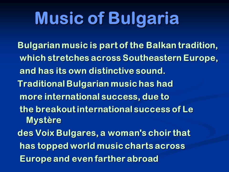 Bulgarian vocals are said to be open-throated , though this is somewhat of a be open-throated , though this is somewhat of a misnomer.
