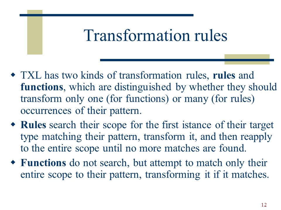13 Rules and function function 2To42 replace [number] 2 by 42 end function rule 2To42 replace [number] 2 by 42 end rule 2 ----> 42 3 2 6 2 78 4 2 2 ----> 42 3 2 6 2 78 4 2 ----> 42 6 42 78 4 42 Rules search the pattern!