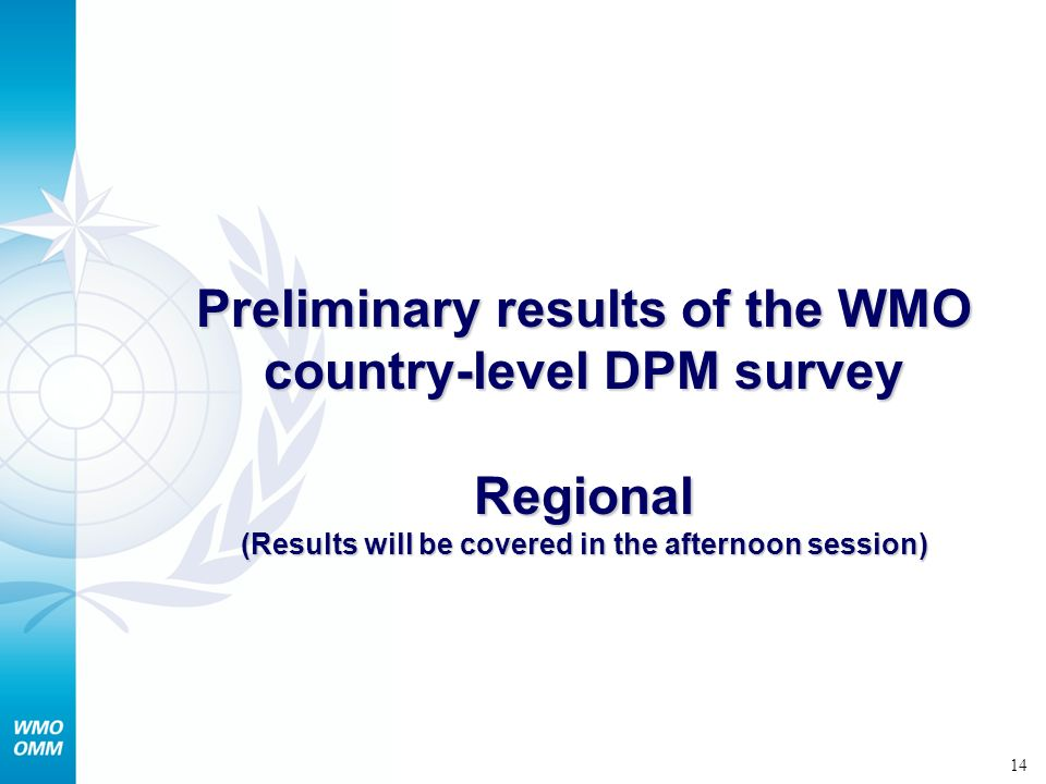 15 Patterns of casualties by natural hazards in WMO Regions