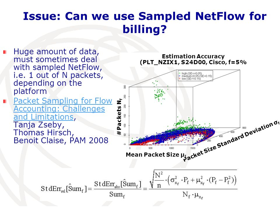 Issue: Can we use Sampled NetFlow for billing.