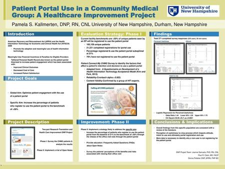 Patient Portal Use in a Community Medical Group: A