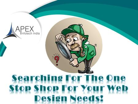 Web Design And Development Company https://www.apexinfotechindia.com