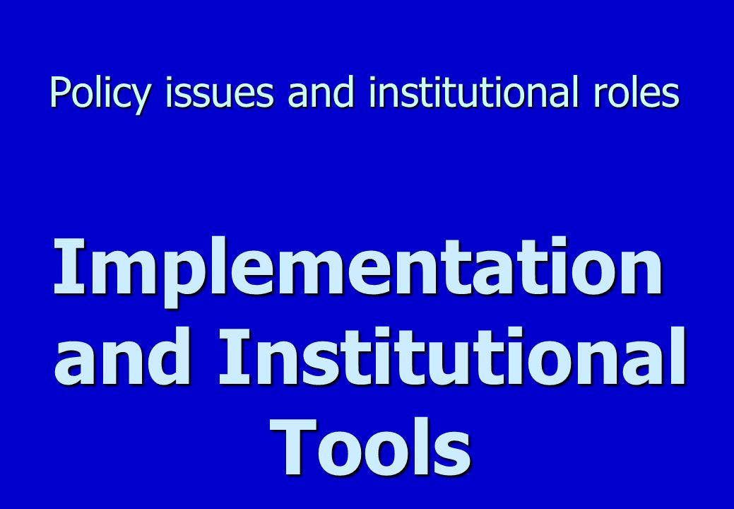 Policy issues and institutional roles Implementation n Tele-shop –Mobile Cellular Co: Vodacom –Other tele-shop concepts n Mini-Telecentre –National franchise from private sector concept owned by CSIR-USA