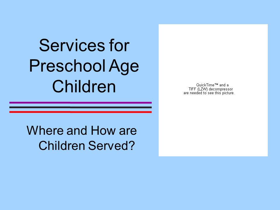 The number of preschool age children with disabilities has increased steadily.