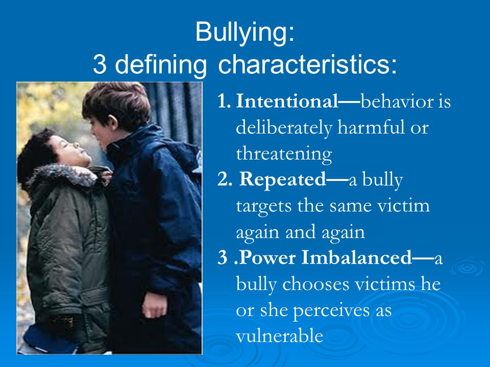 YRBHS, 2011 (9 th -12 th ) Percentage of students who reported being bullied on school property YearUSWV 201120.118.6 Percentage of students who have ever been electronically bullied.