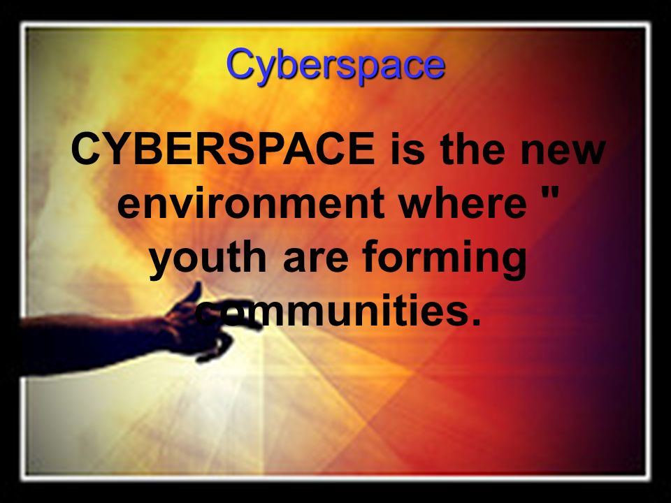 Cyber bullying 93% of teens ages 12-17 are on the Internet.