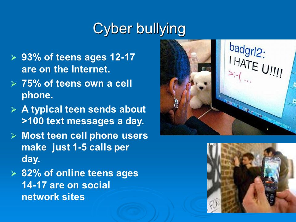 What makes Cyberbullying different.