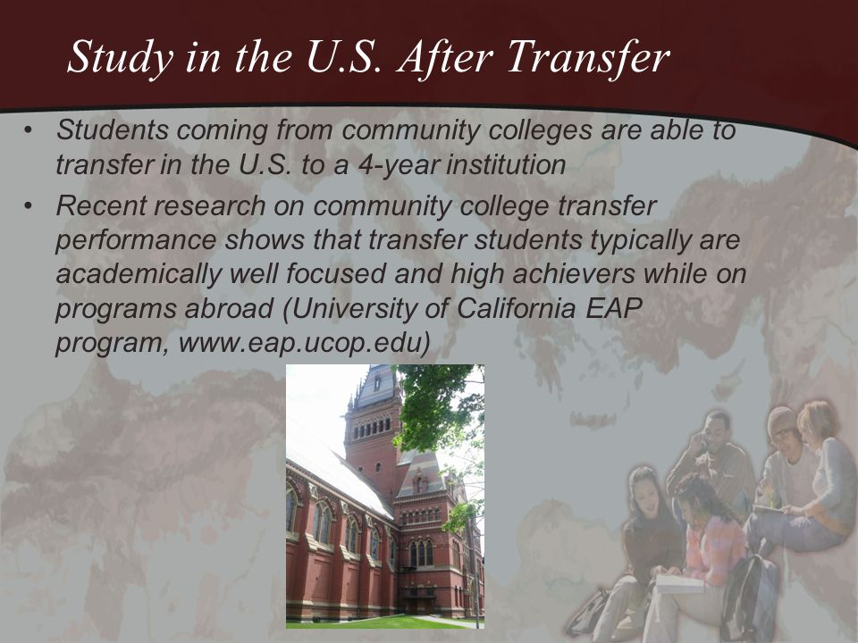 Transfer Students say….