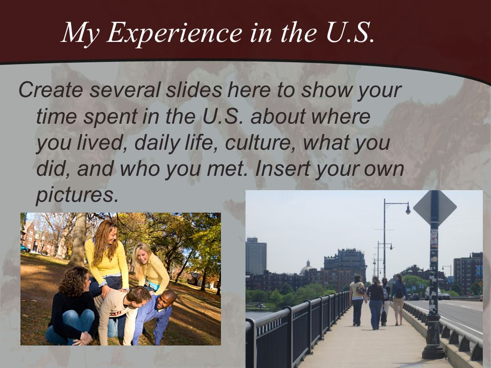 Top 10 Reasons to Study in the U.S.1.Studying abroad is a life-altering experience.