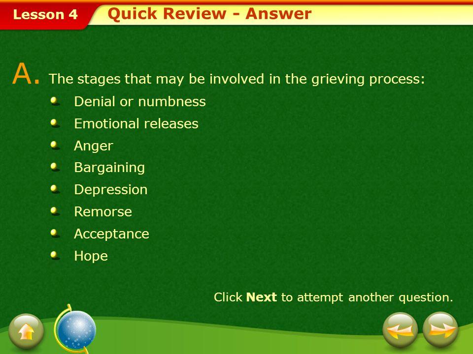Lesson 4 A.