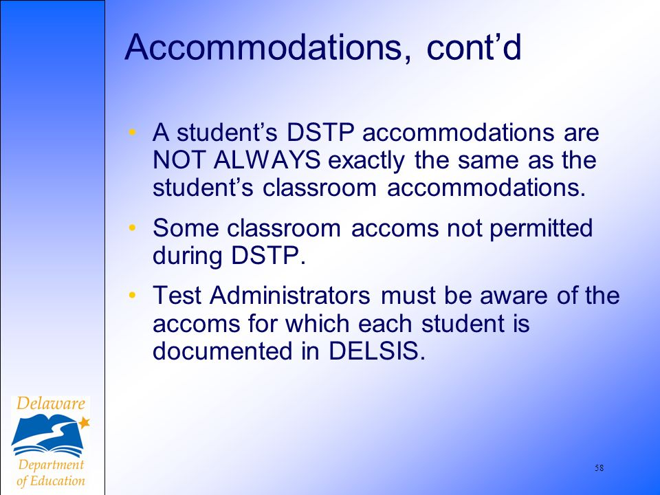 59 Word Processing Accommodations Page 38 (3-5-8)