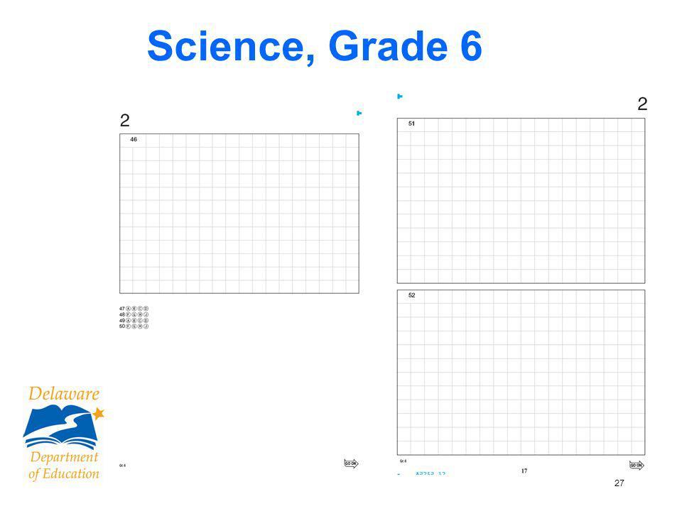 28 Science & Social Studies, Grade 4 Open ended question with no box Open ended question with box