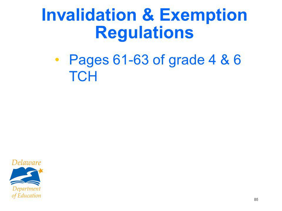 86 Student Refusals Ship labeled booklet with SCORABLE documents.