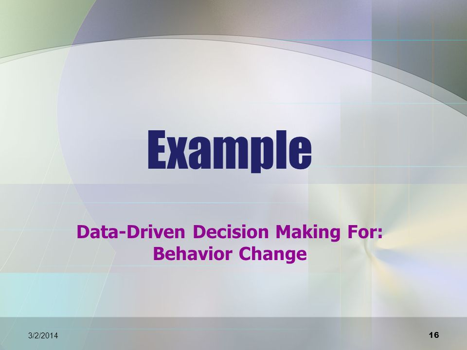 17 3/2/2014 Current Level of Performance/ Baseline Data: Behavior plan positively reinforces appropriate behaviors: -- keeping his body to self, -- following directions, --staying in his seat and --using appropriate words.