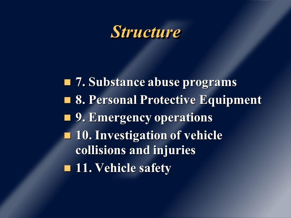 StructureStructure 12.Tools/equipment 12. Tools/equipment 13.