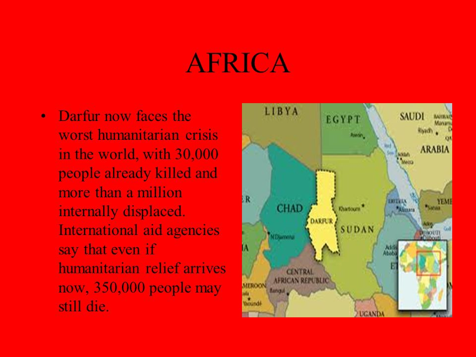 AFRICA-Why are they killing innocent men, women, and children.