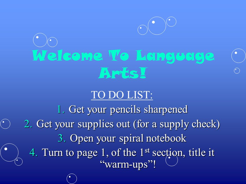 Todays Warm Up Caught Ya Grammar.The following sentence is written incorrectly.